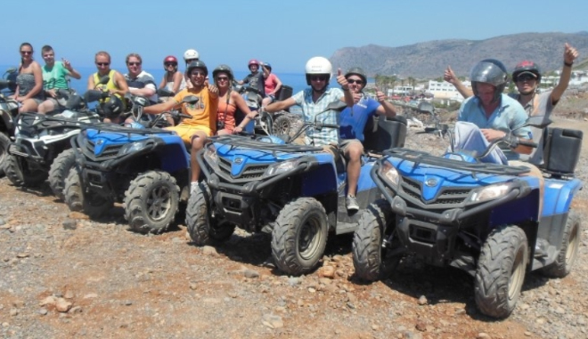Quad Safari Slider Malia